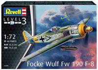 """Сборная модель """"Истребитель Focke Wulf Fw 190 F-8"""" (масштаб: 1/72)"""