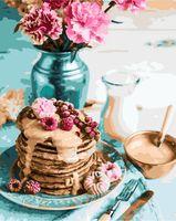 """Картина по номерам """"Воскресный завтрак"""" (400х500 мм)"""