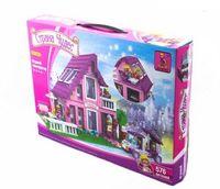 """Конструктор """"Страна чудес. Розовый домик"""" (576 деталей)"""