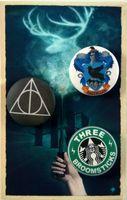 """Набор значков """"Гарри Поттер"""" (арт. 314)"""