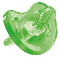 """Пустышка силиконовая ортодонтическая """"Physio Soft"""" (зеленая; арт. 00002712310000)"""