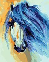 """Картина по номерам """"Марсия Болдуин. Лошадь"""" (400х500 мм)"""