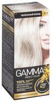 """Крем-краска для волос """"Gamma perfect color"""" (тон: 9.1, пепельный блонд)"""
