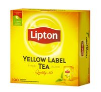 "Чай черный ""Lipton. Yellow Label"" (100 пакетиков; саше)"