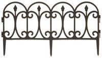 Ограда пластмассовая (60х33 см)