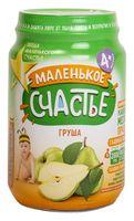 """Детское пюре Маленькое счастье """"Груша"""" (180 г)"""