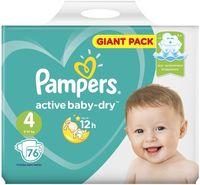 "Подгузники ""Active Baby-dry Maxi"" (9-14 кг; 76 шт.)"