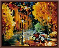"""Картина по номерам """"Осенний марафон"""" (400х500 мм)"""