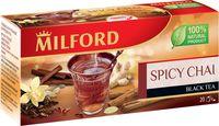 """Чай черный """"Milford. С пряностями"""" (20 пакетиков)"""