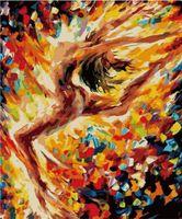 "Картина по номерам ""Магия балета"" (400x500 мм; арт. MG1017)"