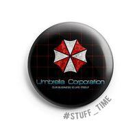 """Значок маленький """"Обитель Зла: Umbrella Corporation"""" (арт. 424)"""