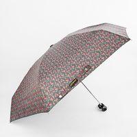 """Зонт """"Вишня на черном"""""""
