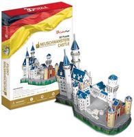 """Сборная модель из картона """"Замок Нойшванштайн"""""""