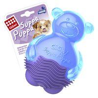 """Игрушка для собак с пищалкой """"Мишка"""" (10 см)"""