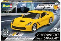 "Сборная модель ""Автомобиль Corvette Stingray 2014"" (масштаб: 1/25)"