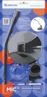 Микрофон Defender MIC-117 (чёрный)