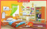 Моя комната. Плакат