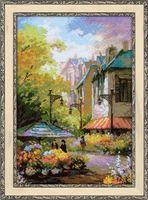 "Вышивка крестом ""Цветочная улица"" (арт. 1306)"