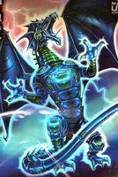 """Протекторы """"Синий яростный дракон робот"""" (66х93 мм; 50 шт)"""