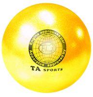 Мяч для художественной гимнастики T8 (желтый)