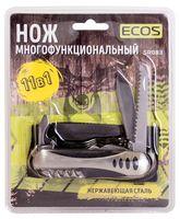"Нож Ecos ""SR083"" (12 функций; металлик)"
