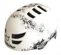 """Шлем велосипедный """"360°"""" (чёрно-белый)"""