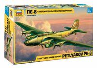"""Сборная модель """"Самолет Пе-8"""" (масштаб: 1/72)"""