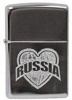 Зажигалка Zippo 250 I Love Russia