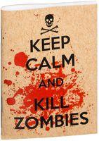 """Блокнот крафт """"Kill Zombies"""" А7 (134)"""