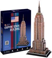 """Сборная модель из картона """"Небоскреб Эмпайр-стейт-билдинг"""" (Нью-Йорк)"""