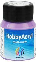"""Краска акриловая матовая """"Hobby Acryl matt"""" (фиолетовый металлик; 59 мл)"""