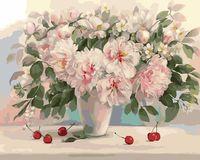 "Картина по номерам ""Букет из бабушкиного сада"" (400х500 мм)"