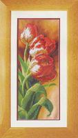"Вышивка бисером ""Тюльпаны"" (155х385 мм)"