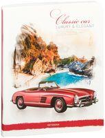 """Тетрадь в линейку """"Classic Car"""" (80 листов)"""