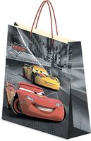 "Пакет бумажный подарочный ""Cars"" (33х43х10 см; арт. CRAA-UG1-3343-Bg)"