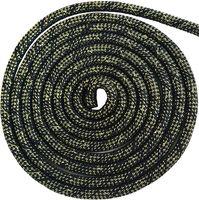 Скакалка для художественной гимнастики Pro (3 м; чёрная с люрексом)