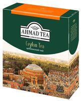 """Чай черный """"Ahmad Tea. Цейлонский"""" (100 пакетиков)"""