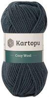 "Пряжа ""KARTOPU. Cozy Wool №K1480"" (100 г; 110 м; темно-зеленый)"