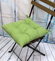 """Подушка на стул """"Velours"""" (42х42 см; фисташковая)"""