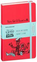 """Записная книжка Молескин """"Toy Story"""" в линейку (большая; твердая красная обложка)"""