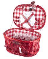Набор посуды для пикника в корзине (на 4 персоны; арт. 10794616)