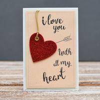 "Открытка ""Love You"" (арт. 18-SV-341)"
