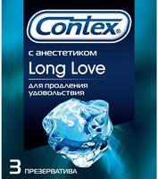 "Презервативы ""Contex. Long Love"" (3 шт.)"