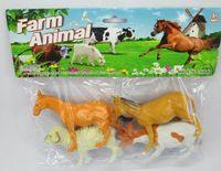 """Набор фигурок """"Животные на ферме"""" (4 шт)"""