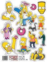 "Набор бумажных наклеек №24 ""Симпсоны"""