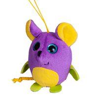 """Мягкая игрушка-брелок """"Глазастик. Мышка"""" (9 см)"""