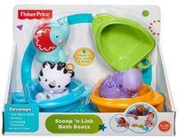 """Набор игрушек для купания """"Друзья на лодочках"""" (3 шт)"""