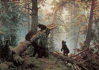 """Пазл """"Утро в сосновом лесу"""" (60 элементов)"""