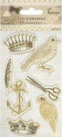 Наклейки объемные декоративные (7 шт.; арт. CP-31)