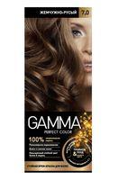 """Крем-краска для волос """"Gamma perfect color"""" (тон: 7.0, жемчужно-русый)"""